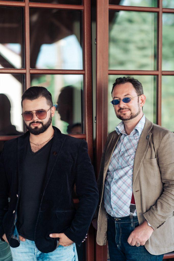 Maksym Komar i Siergiej Grinvald